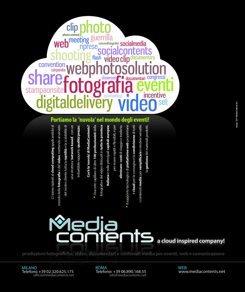 MediaContents Cloud Insipired Advertising