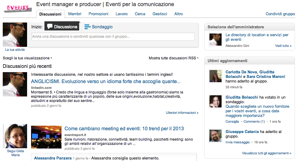 Event manager e producer | Eventi per la comunicazione