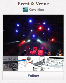 Event & Venue Pinterest