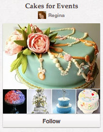 Cakes for Events Pinterest