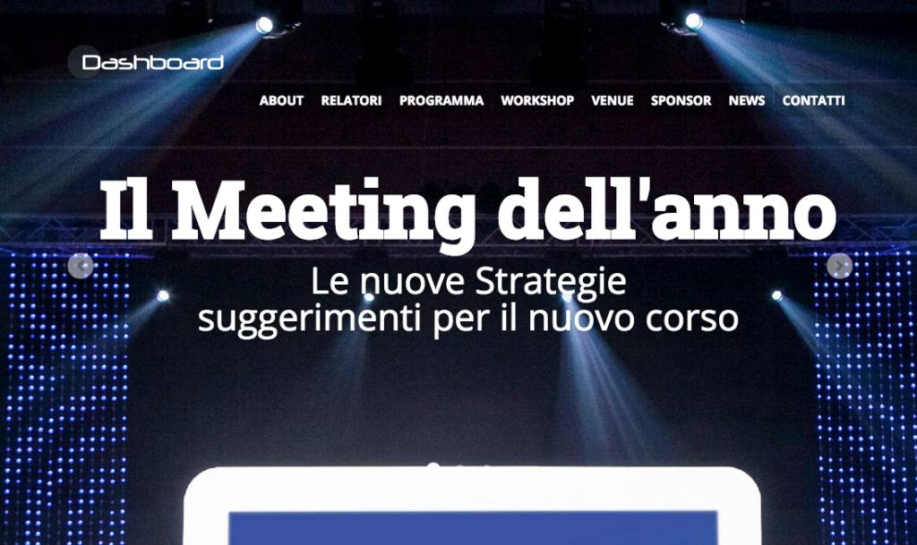 Mini sito per eventi: sistema di invito e registrazione ospiti